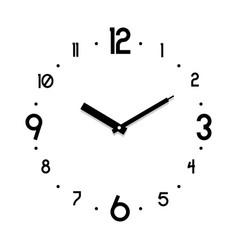 clock business watch vector image