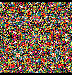 colorful mosaic seamless vector image