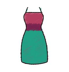 Fashion female garment icon vector