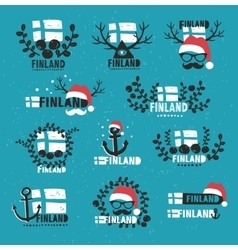 Finland set labels vector