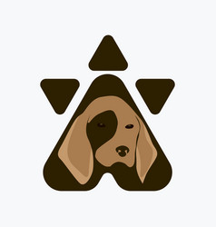 pet care logo vector image