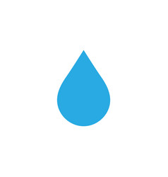 water drop logo icon element design template vector image