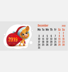 2018 year of yellow dog on chinese calendar fun vector image vector image
