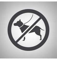 Do not smoking icon vector image vector image