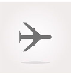 airplane Icon airplane Icon Art airplane vector image