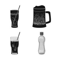 Drink and bar logo vector