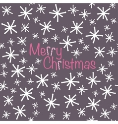 Merry Christmas Seamless christmas pattern in vector image