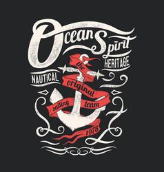 Ocean spirit vector