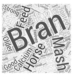 To Bran Mash Or Not To Bran Mash Word Cloud vector