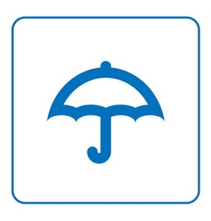 Umbrella icon cartoon vector image