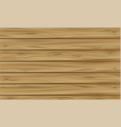 wooden panel plank vector image