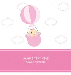 babyballoon vector image