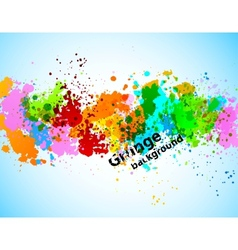 Abstract gunge background vector image vector image