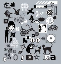 logo tools vector image