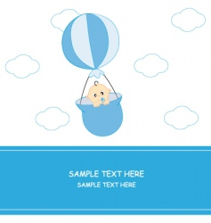 babyboyballoon vector image