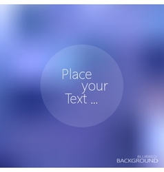 blurred background with place for your text vector image