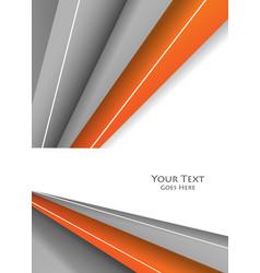 bright design vector image