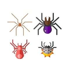 Danger insects set vector image
