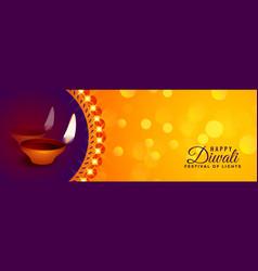 Deepawali celebration design beautiful festival vector
