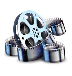 Film-strip for cinema motion vector