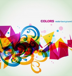 Funky abstract eps10 design vector
