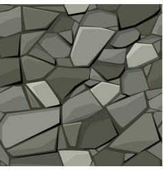 Seamless texture for paving stone and cobblestone vector