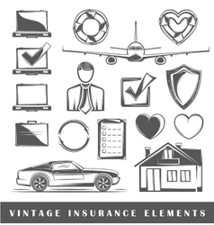 Set of elements on insurance vector
