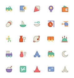 Travel Icons 9 vector