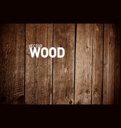 Wooden background dark wood backdrop for creative vector