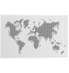 world map black dots atlas composition eps10 file vector image