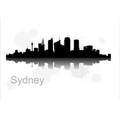 Sydney city vector image vector image