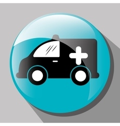 Transport vehicle and delivery vector image vector image