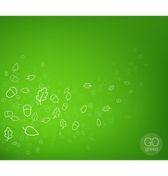 Abstract nature fly background vector