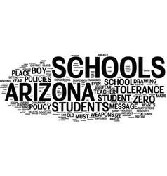 Arizona schools did they overreact text vector