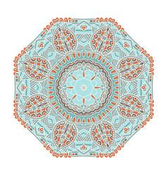 bohemian mandala design vector image