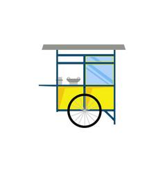 cart or gerobak vector image