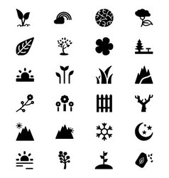Nature Icons 5 vector