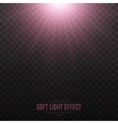 Soft Light Effect Background vector image