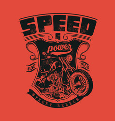 Speed and power vector