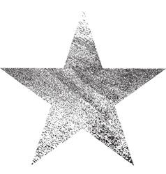 Star One Grunge vector image