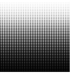 diminishing halftone dots vector image