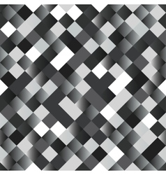 Seamless background with shiny silver squares vector image vector image
