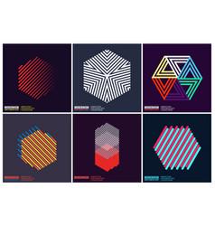 simplicity geometric design vector image vector image