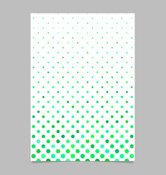 Abstract repeating circle pattern flyer template vector