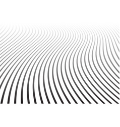 Abstract wavy lines design vector