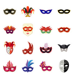 Carnival and theatrical vector