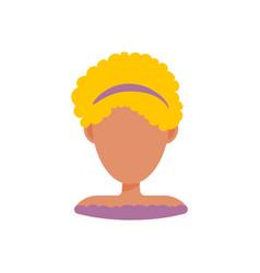 female user avatar profile picture icon vector image