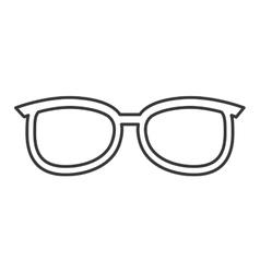 Glasses isolated icon design vector
