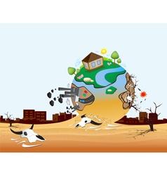 Global Warming Design 09 vector