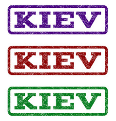 Kiev watermark stamp vector
